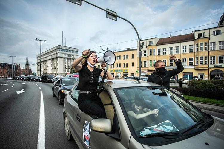 Krzysztof Mystkowski, protest Gdańsk