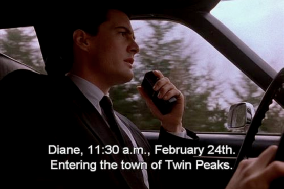 February 24th. Entering the town of Twin Peaks